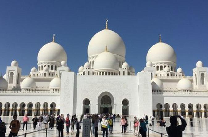 Tour van Abu Dhabi plus shoppingtour met lunch vanuit Dubai