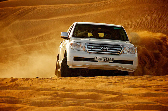 Ultimate Morning Desert Safari from Dubai