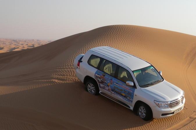 Woestijnsafari Dubai incl. BBQ en