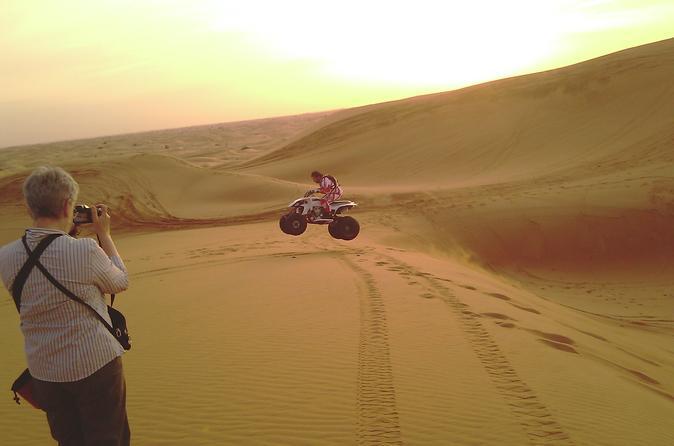 Woestijnsafari en dinertour door Dubai