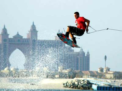 Wakeboarden in Dubai