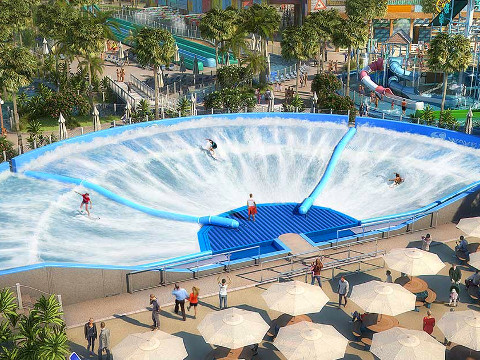 Waterpretpark Dubai: Laguna Waterpark