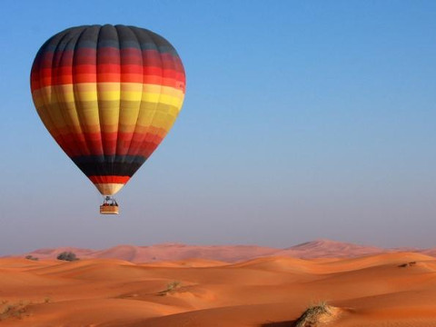 Luchtballon tickets Dubai