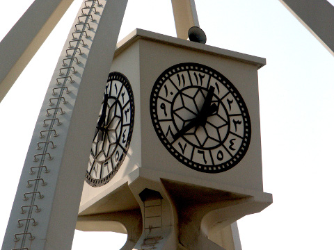 Clocktower in Dubai