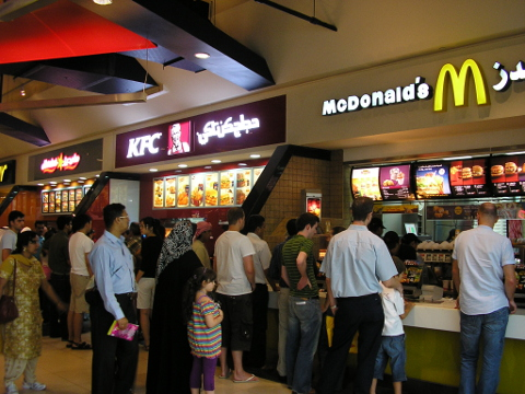Foodcourts in Dubai Mall