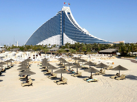 Hotels, appartementen, resorts, villas in Dubai