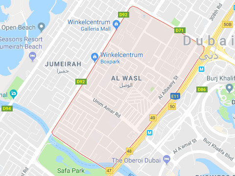 Hotels in Al Wasl Dubai