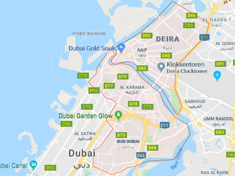 Hotels in Old Dubai