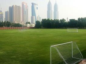Voetbal in Dubai