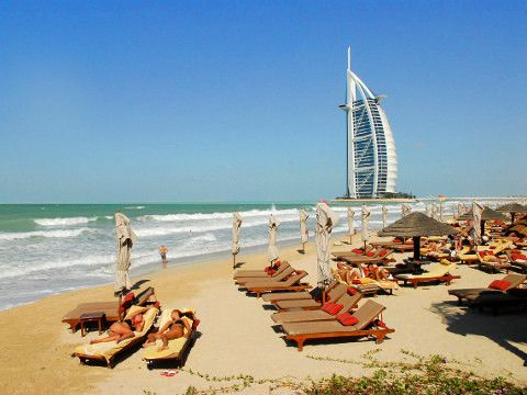 Top 5 strand Dubai