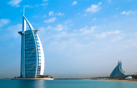 Strand hotels in Dubai