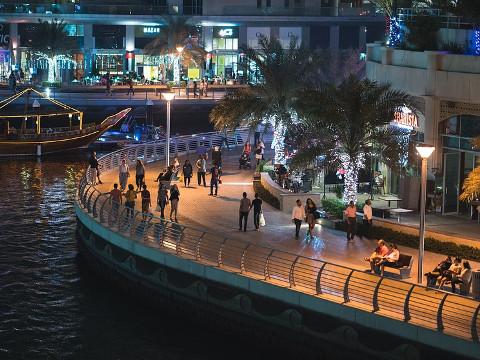 The Walk Dubai – de boulevard Ontdek Dubai.NL