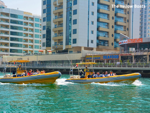 Yellow Boats Dubai